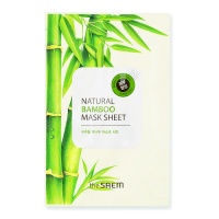 "The Saem ""Natural Bamboo Mask Sheet"""