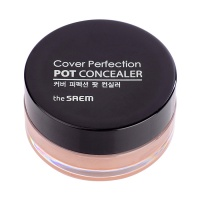 "The Saem ""Cover Perfection Pot Concealer 02 Rich beige"""