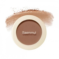 "The Saem ""Saemmul Single Blusher BR01 Call Me Brown"""