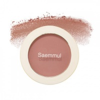 "The Saem ""Saemmul Single Blusher CR01 Naked Peach"""