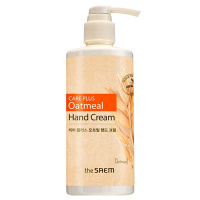 "The Saem ""Care Plus Oatmeal Hand Cream"" 300ml"
