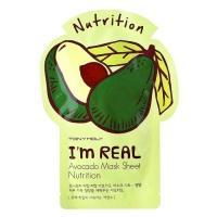 """Tony Moly """"I'm Real AVOCADO Mask Sheet Nutrition"""""""