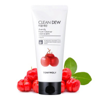 "Tony Moly ""Clean Dew Acerola Foam Cleanser"""