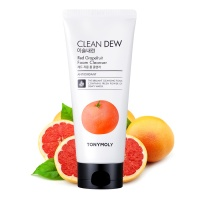 "Tony Moly ""Clean Dew Red Grapefruit Foam Cleanser"""
