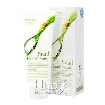 "3W Clinic ""Snail Hand Cream"""