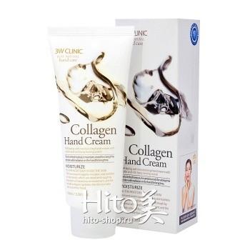 """3W Clinic """"Collagen Hand Cream"""""""