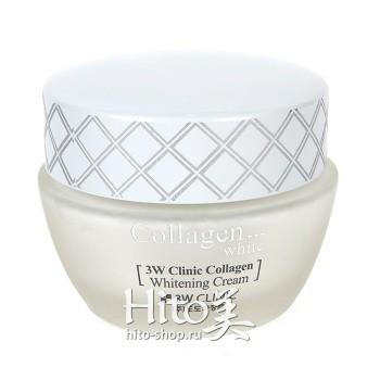 """3W Clinic """"Collagen Whitening Cream"""""""