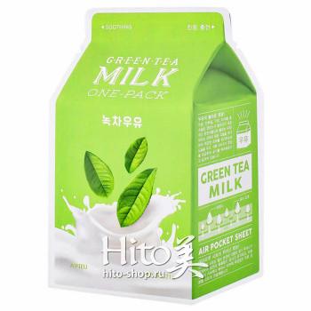 """A'Pieu """"Green Tea Milk One-Pack"""""""