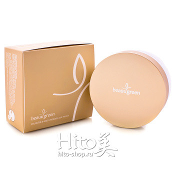 "BeauuGreen ""Collagen & Gold Hydrogel Eye Patch"" BIG SIZE"
