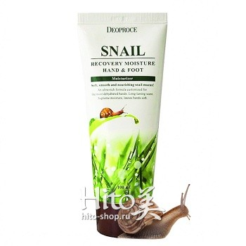 """Deoproce """"Snail Recovery Moisture Hand & Foot Cream"""""""