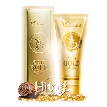 """Elizavecca """"24K Gold Snail Cleansing Foam"""""""