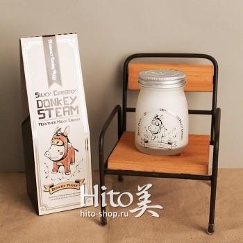 "Elizavecca ""Silky Creamy Donkey Steam Moisture Milky Cream"""