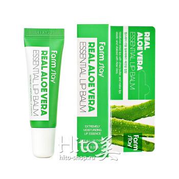 "FarmStay ""Real Aloe Vera Essential Lip Balm"""