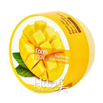 """FarmStay """"Real Mango All-In-One Cream"""""""