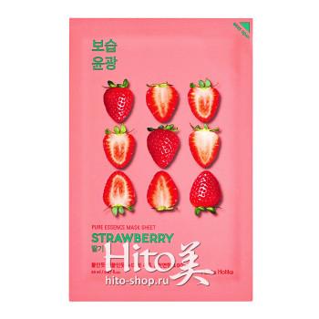"Holika Holika ""Pure Essence Mask Sheet Strawberry"""