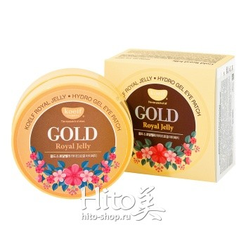"Koelf ""Gold & Royal Jelly Hydrogel Eye Patch"""