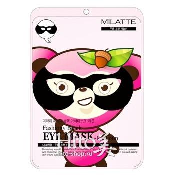 "Milatte ""Fashiony Black Eye Mask Racoon"""