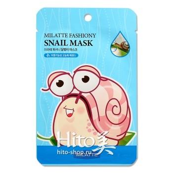 "Milatte ""Fashiony Snail Mask Sheet"""