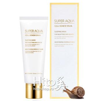 "Missha ""Super Aqua Cell Renew Snail Sleeping Mask"""