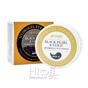 "Petitfee ""Black Pearl & Gold Hydrogel Eye Patch"""