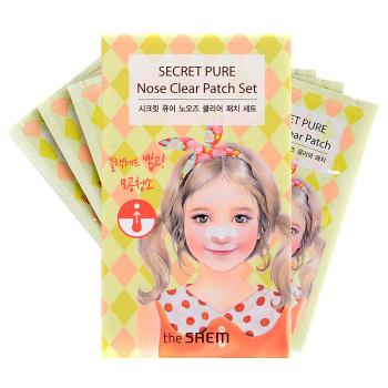 """The Saem """"Secret Pure Nose Clear Patch Set"""""""