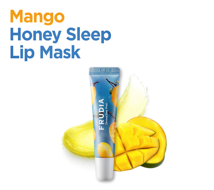 Frudia Mango Honey Lip Mask.